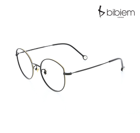 [비비엠] BIBIEM-MARGARET-01 캣츠아이 안경테 / 독특한 안경테