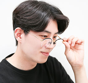 [비비엠] BIBIEM-MARGARET-04 독특한 안경테 / 패션 안경테