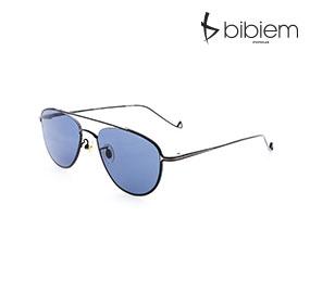 [비비엠 선글라스] BIBIEM-BLUE-05  반미러 선글라스 / 유니크 선글라스 / 투브릿지 선글라스