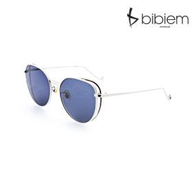 [비비엠 선글라스] BIBIEM-BLUE-06  반미러 선글라스 / 유니크 선글라스 / 캣츠아이 선글라스