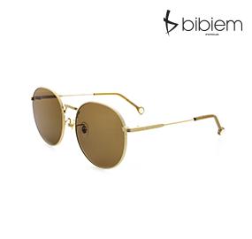 [비비엠 선글라스]BIBIEM-RONT-01 세련된 선글라스 / 라운드 선글라스 / 메탈 선글라스