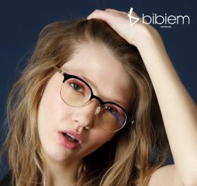 [비비엠] BIBIEM-BLUE-VC-02 가벼운 안경테 / 직장인 안경테 / 독특한 안경테