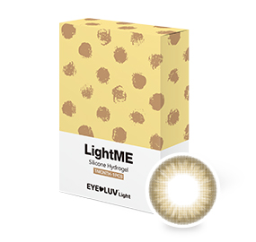 [EL02]라이트미 브라운(1month/1ea) / 도수범위 0.00~-8.00