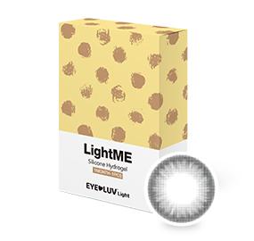 [EL01]라이트미 그레이(1month/1ea) / 도수범위 0.00~-8.00